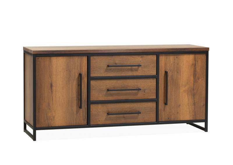 Orvelte Dressoir Klein 2 drs/3 laden