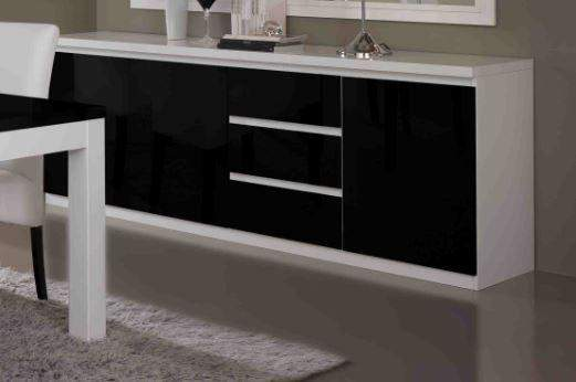 Apeldoorn Dressoir Groot Wit Zwart   Goedkoopst bij A meubel
