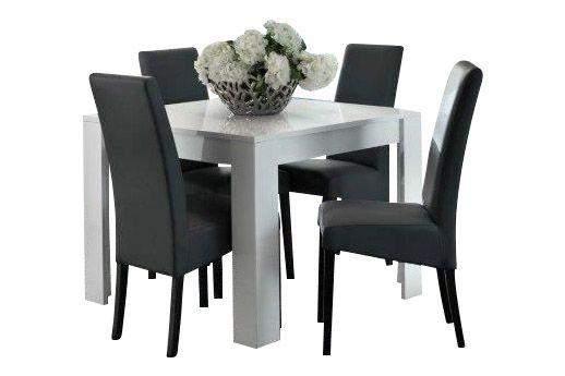 Witte Vierkante Eettafel.Marknesse Eettafel Vierkant 100x100cm Wit Goedkoopst Bij A