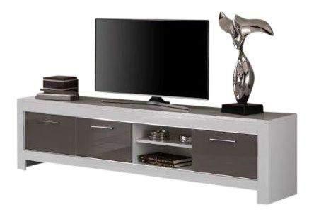 Tv Kast Wit : Hoekkast keuken luxe tv kast hoogglans wit c van design keukens