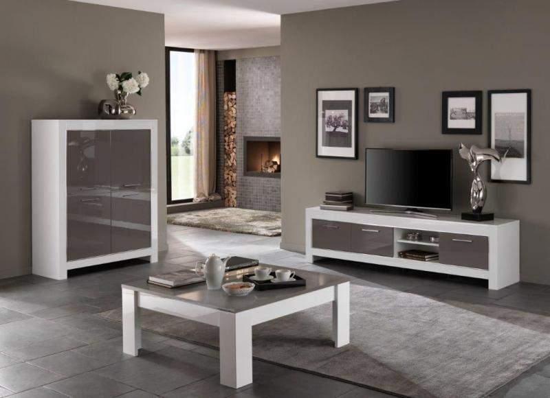 Woonkamerset marknesse wit grijs goedkoopst bij a meubel for Meubel set