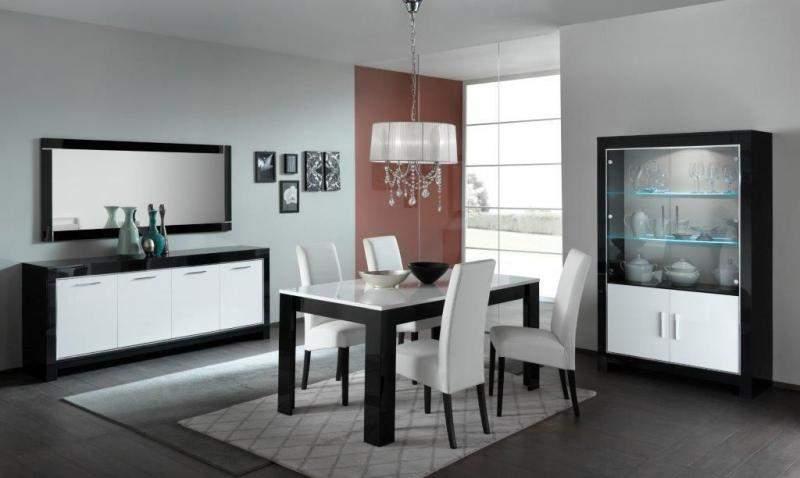 Woonkamerset Marknesse Zwart/Wit   Goedkoopst bij A-meubel