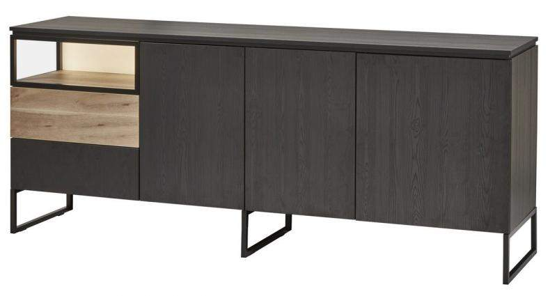 Piershil Zwart Blad Dressoir Medium