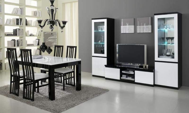 Woonkamerset Apeldoorn Zwart Wit  Goedkoopst bij A-meubel