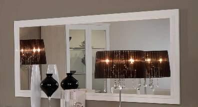 Apeldoorn spiegel wit goedkoopst bij a meubel - Grote spiegel voor de woonkamer ...