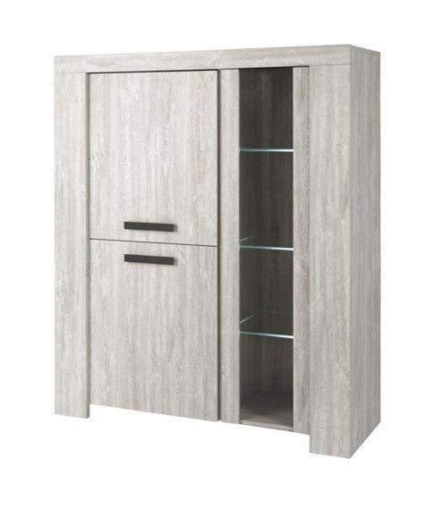 jabeek vitrinekast valonia goedkoopst bij a meubel. Black Bedroom Furniture Sets. Home Design Ideas