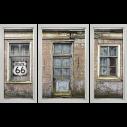 Huis oud vervallen 3-luik