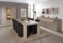 Meubelsets woonkamer meubels hout modern landelijk a meubel - Meubels set woonkamer eetkamer ...