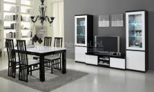 Strak hoogglans woonkamers meubels bij A-meubel