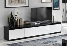 Tv Kast Zwart Wit.Tv Kasten Dressoir Bergkast Vitrinekast Laagste Prijs Bij A