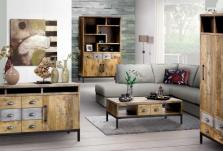 Uitgelezene Industriële woonkamers  laagste prijs   A-meubel GD-21
