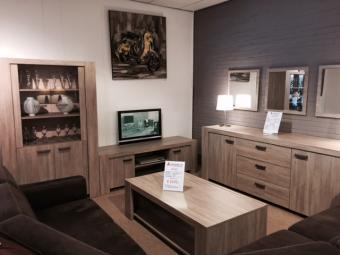 Woonkamerset tilburg goedkoopst bij a meubel for Complete meubelset