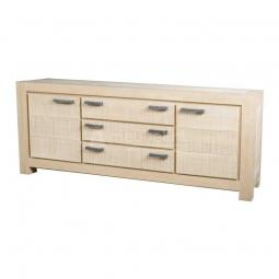 UIT DE COLLECTIE Siena 61100 Dressoir Groot 2 drs. 3 laden White Wash