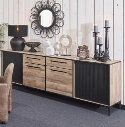 Pieterburen DR1 Dressoir Groot Naturel hout