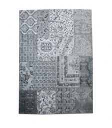 Carpet patchwork small grey 6006