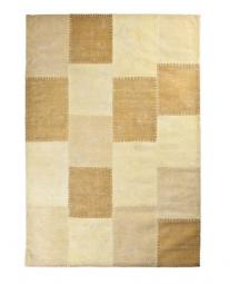 Patchwork mono groot yellow 6236