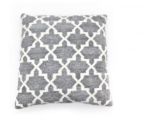 Pillow pearl large grey 3052
