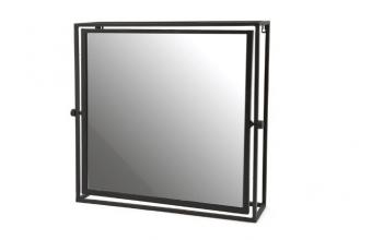 Mirror in frame square 0377