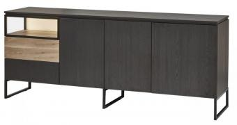 Piershil Zwart Dressoir Medium