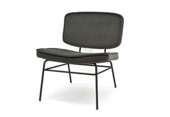 Lounge stoel vice - Anthracite 0885